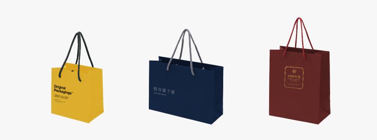 スタンダードな紙袋|デザイン01