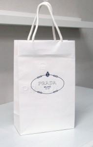 石膏のような美しいショップ袋