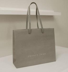 大人っぽいグレーが素敵なショップ袋