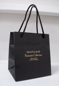 高級感のあるシックなショップ袋
