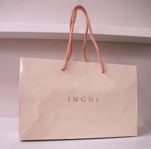 フェミニンなヌードピンクがかわいい紙袋