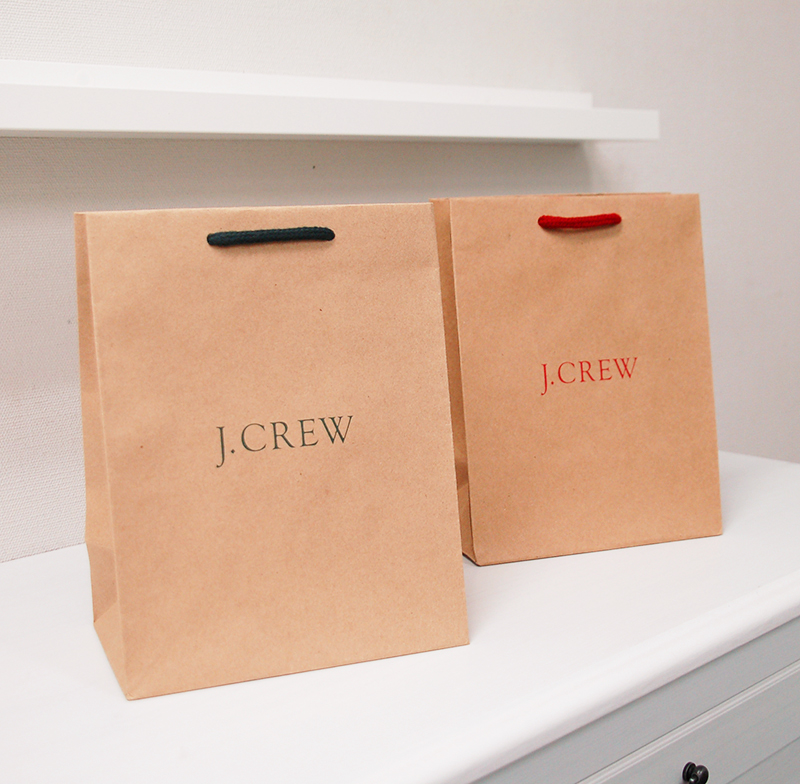 インドネシア製のワイルドなクラフト紙袋
