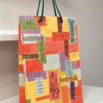 懐かしいデザインの紙袋