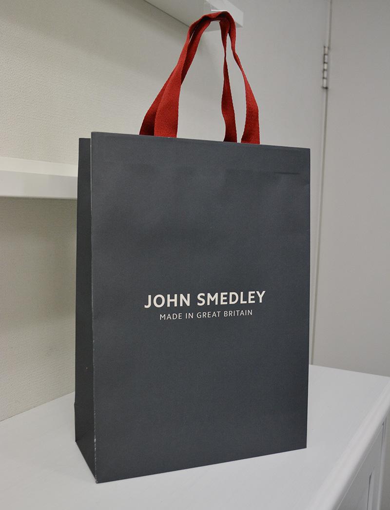 しっとりと落ち着いたブリティッシュスタイル紙袋