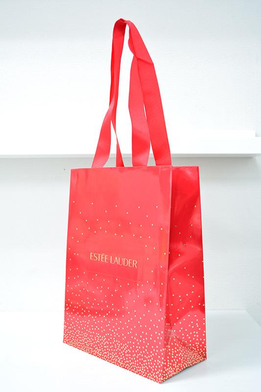 とってもクリスマスな紙袋