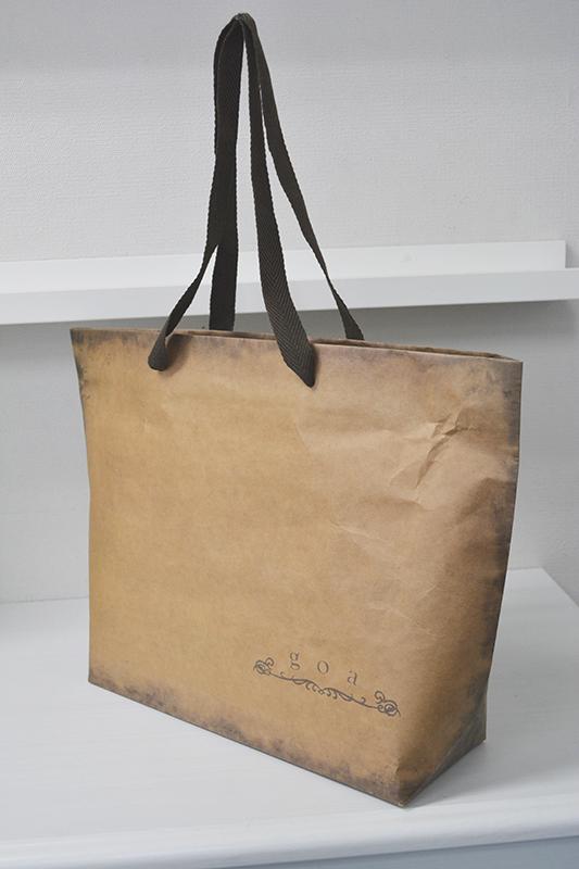 クラフト紙特集 第1弾!<br>未晒クラフトならではの格好良いアンティーク風紙袋
