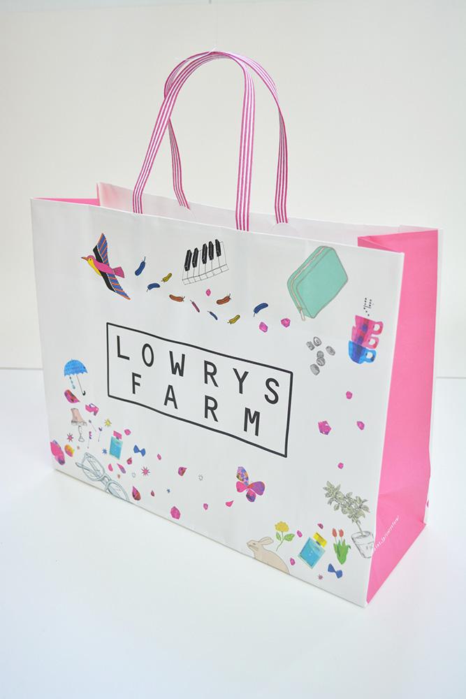 女の子のツボを押さえた人気ブランドの紙袋!