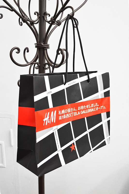 紙袋 meets 広告!! 紙袋は最高の告知ツール!?