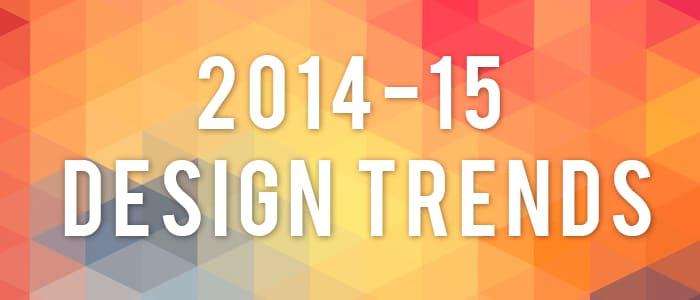 2014〜15年デザイントレンド!