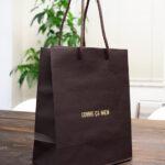 ダンディなジェントルマンのようなかっこいい紙袋