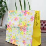 春らしい、元気のでる紙袋!