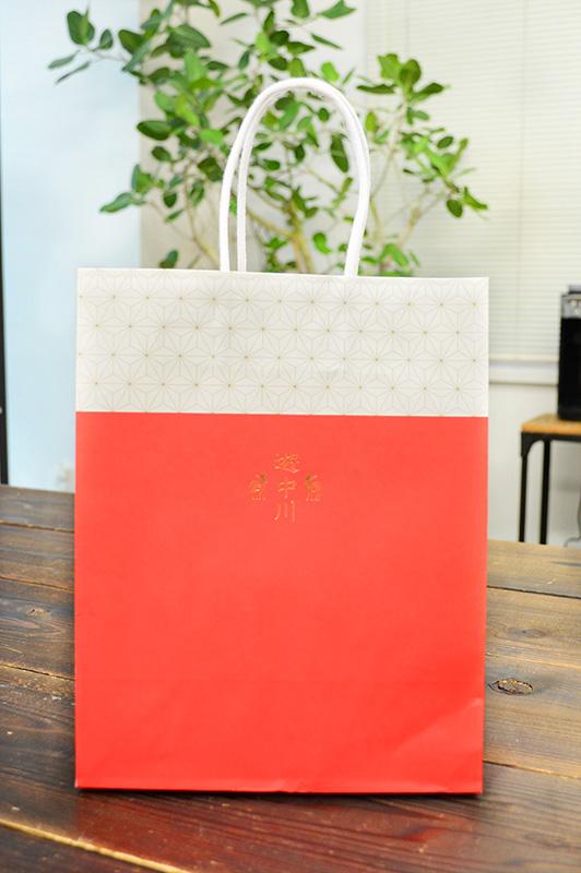今どきの「和」を表現した紙袋