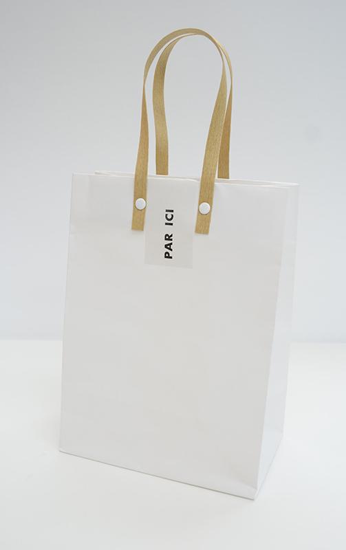シンプルだけどかわいい紙袋
