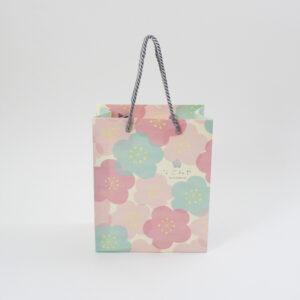 パステルカラーがかわいい和柄の紙袋