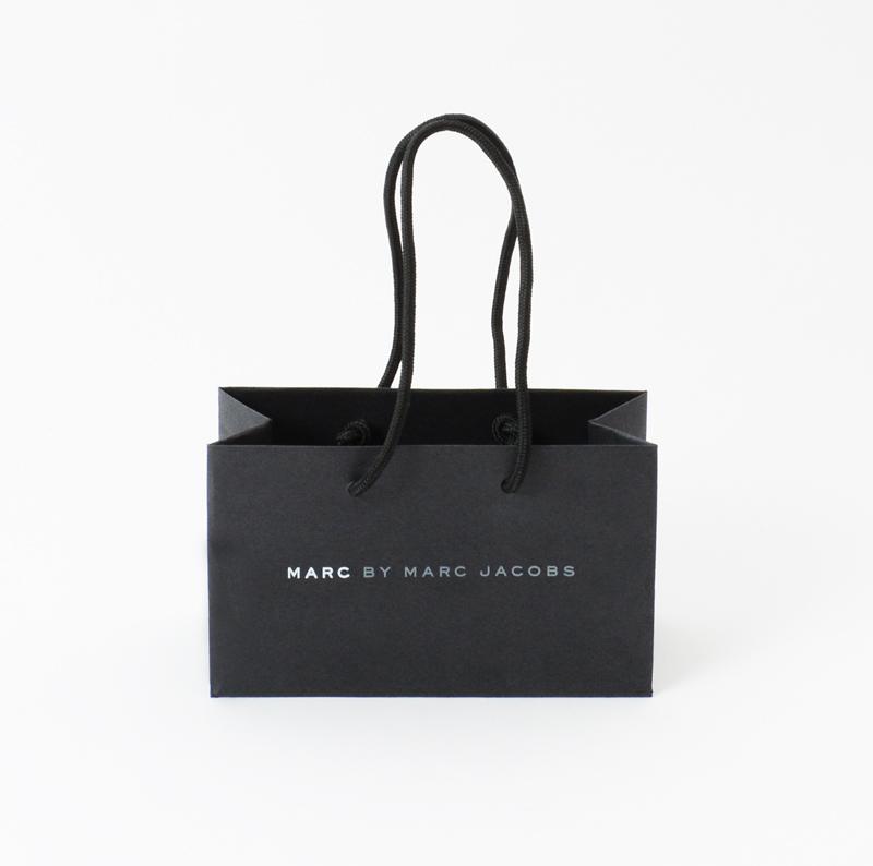 ブラックが美しい、シンプルな紙袋を読む