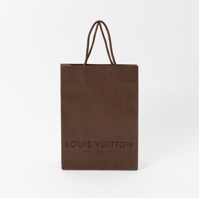 独自のエンボス加工がきれいな紙袋