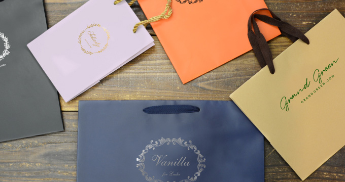 既製品の紙袋でもオリジナル性を出したい!セミオーダーを上手く活用のイメージ