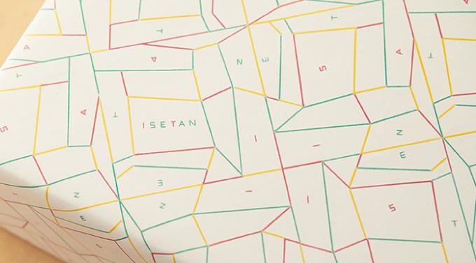 包装紙のリニューアルデザイン紹介 その1のイメージ
