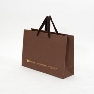 紙袋, ブラウン, シック