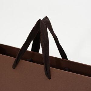 紙袋, ブラウン, 平紐