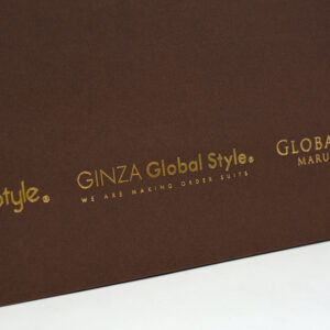 紙袋, ロゴ, アパレル