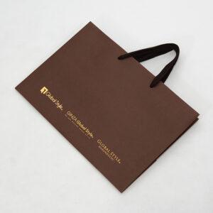 紙袋, ブラウン, アパレル
