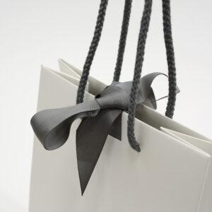 紙袋, リボン, 紐