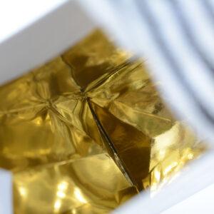 紙袋, 中面, ゴールド