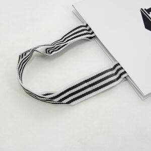紙袋, ハンドル, 縦留め