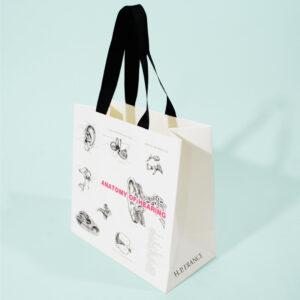 紙袋, イラスト, アパレル