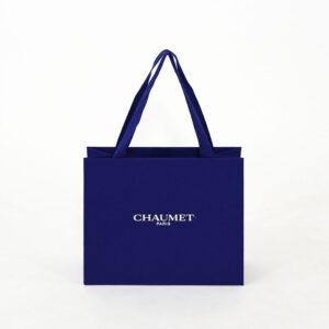 紙袋, ジュエリー, ブルー