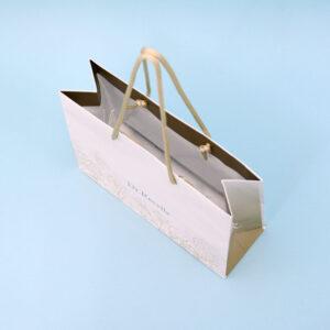 紙袋, 内面,