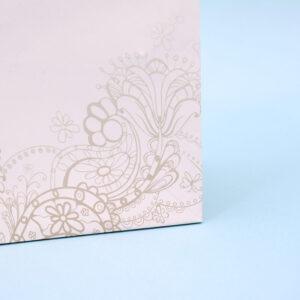 紙袋, 印刷, 花柄