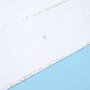 紙袋, 底面, 印刷