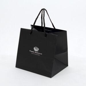 紙袋, ブラック, 黒, チョコレート