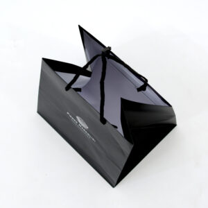 紙袋, ブラック, 黒, 俯瞰