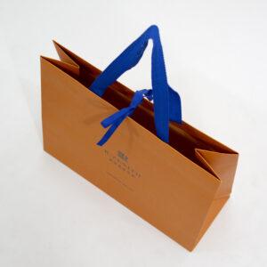 紙袋, オレンジ, 俯瞰