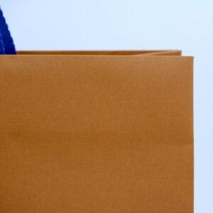 紙袋, エンボス, オレンジ