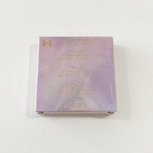 正面に薄い紫の印刷、箔押し