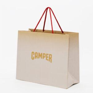 紙スピンドルを使ったエコな紙袋