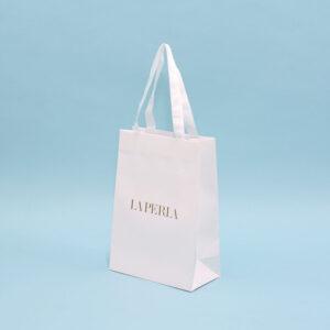 紙袋, 白