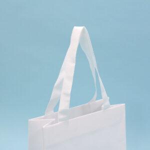 紙袋, ハンドル, 白