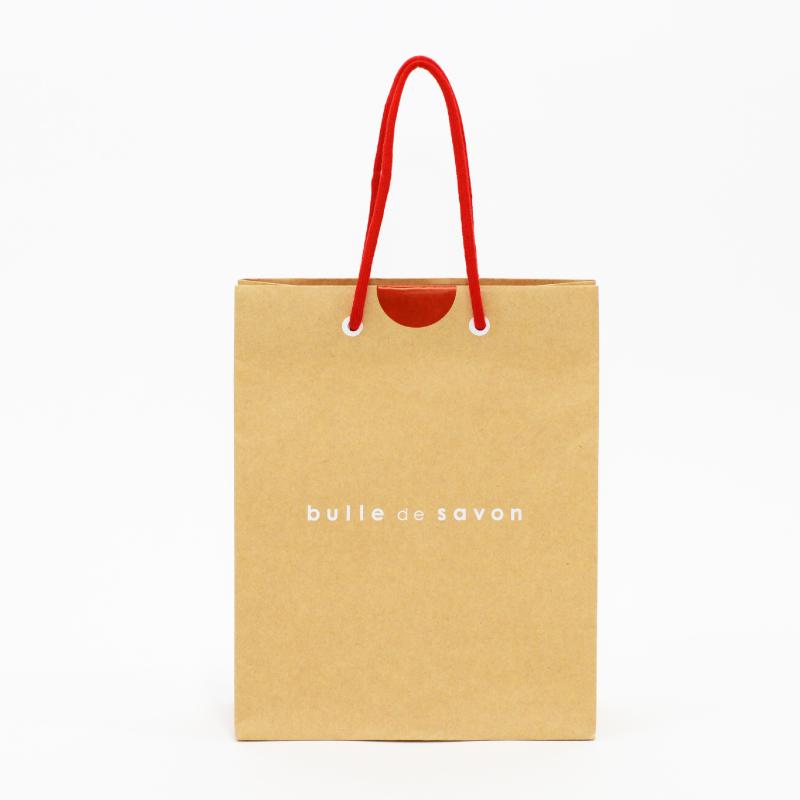 まる〜いシルエットが可愛い紙袋◎