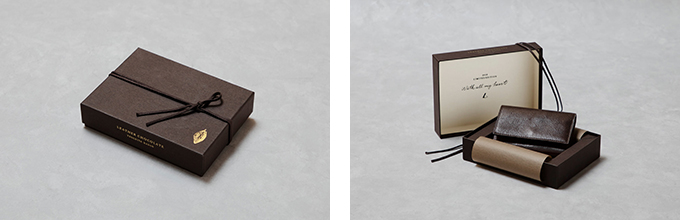 土屋鞄のチョコレート風キーケース