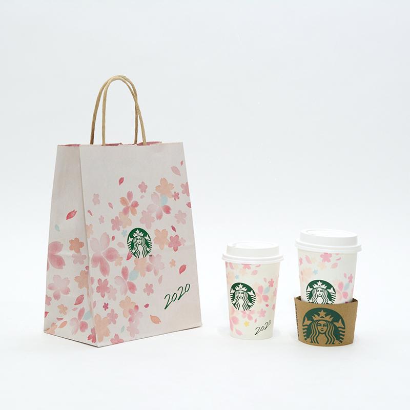 内面まで華やか!お花見した気分になれるハッピーな紙袋