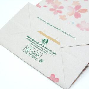 FSCマークのデザイン紙袋