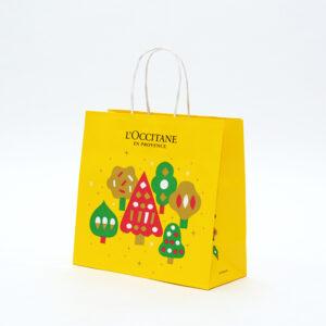 クリスマスコフレ用紙袋