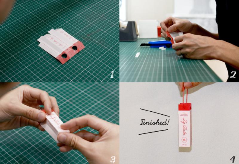 紙袋職人が作る最小サイズの紙袋