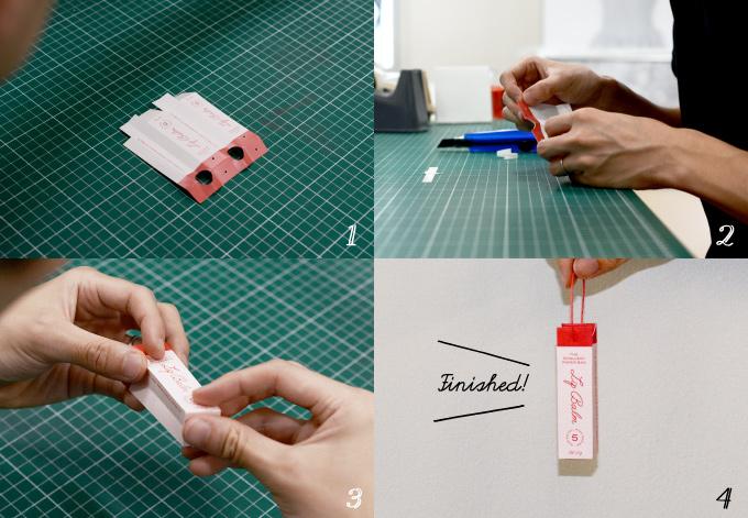 極小オリジナル紙袋の作り方