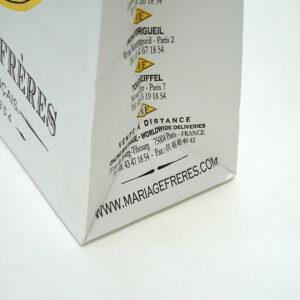 2色印刷でシンプルかつ印象的な紙袋
